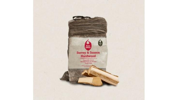Green Olive Firewood - Kiln Dried Hardwood - 30 Litres