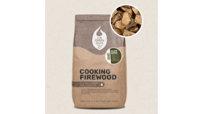 Green Olive Firewood - Olive Cooking Firewood - 22 Litres