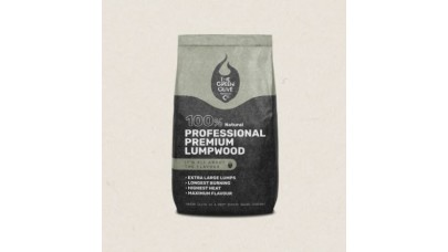 Green Olive Charcoal - Professional Premium Lumpwood - 12kg