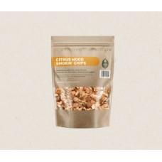 Green Olive Smoking Chips - Citrus - 1.5 Litre