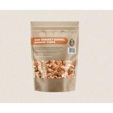 Green Olive Smoking Chips - Oak Whiskey - 1.5 Litre