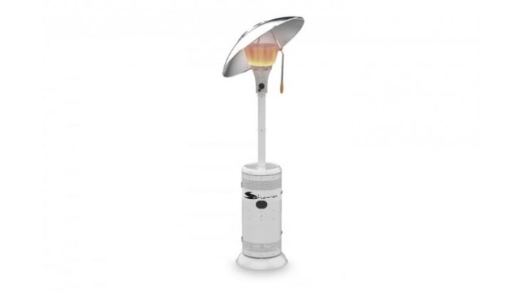 Sahara - 15kW Heat Focus Patio Heater in White