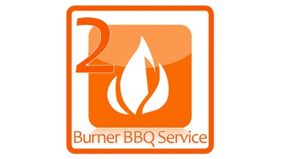 2 Burner BBQ Service