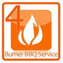 4 Burner BBQ Service