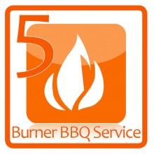 5 Burner BBQ Service