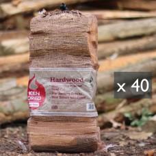 Green Olive Kiln Dried Hardwood Net Bag x 40