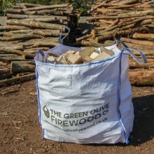 Green Olive Kiln Dried Hardwood 1.2 Meter Cubed Bag