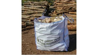 Green Olive Kiln Dried Hardwood 1.2 Meter Cubed Bag