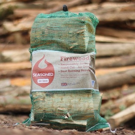 Green Olive UK Seasoned Hardwood Net Bag