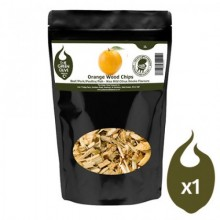 Green Olive Wood Chips - Orange