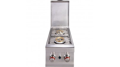 Sunstone Double Built In Side Burner