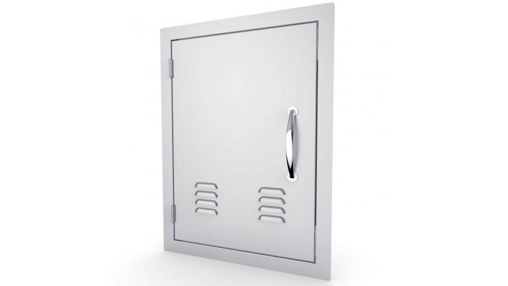 Sunstone Vertical Ventilated Door - Left Hand Opening - Large