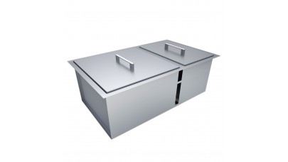 Sunstone Double Sink With Covers