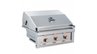 Sunstone Ruby Series 3 Burner Built In Gas BBQ