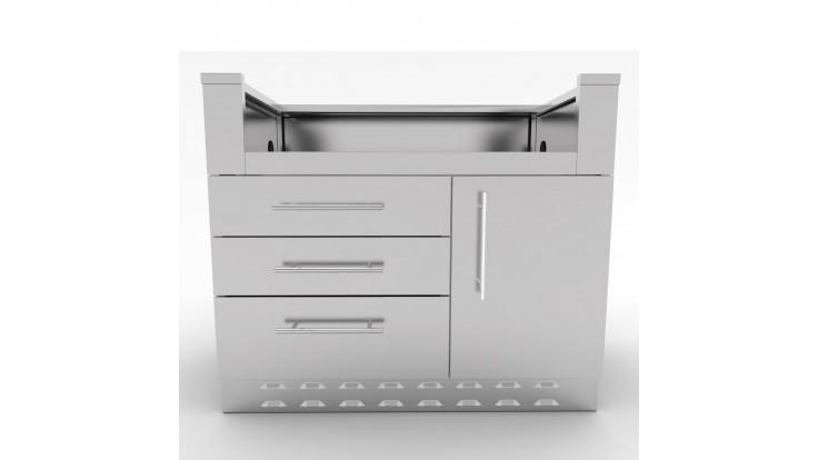 Sunstone Cabinet For 4 Burner Gas BBQ