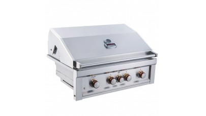 Sunstone Ruby Series 4 Burner Built In Gas BBQ
