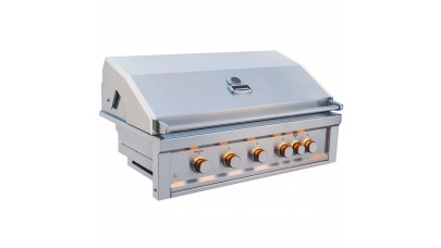 Sunstone Ruby Series 5 Burner Built In Gas BBQ