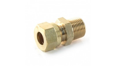 """15mm Compression x 1/2"""" Tapered Male"""