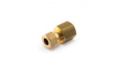 """5/16"""" or 8mm Compression x 1/4"""" Parallel Female"""