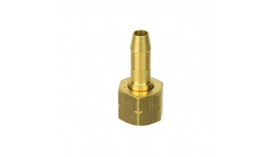 """High Pressure Nozzle for 4.8mm Gas Hose x 3/8"""" Left Hand Female"""