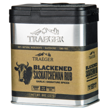 Traeger Blackened Saskatchewan Rub - 227g SPC178