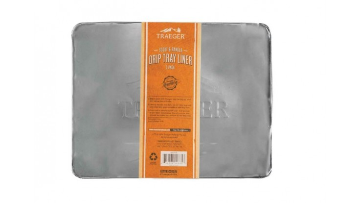 Traeger - Drip tray Liner 5 Pack for Scout & Ranger