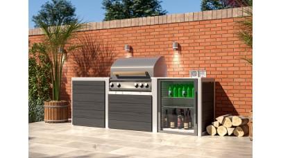 Compact Gas Kitchen - Whistler Burford 4