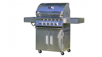 Whistler Grills Bibury 3 Gas BBQ with Free Cover and Rotisserie