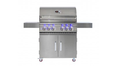Whistler Grills Bibury 4 Gas BBQ with Free Cover and Rotisserie