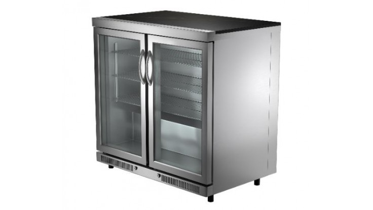 Whistler Grills Cirencester Double Door Fridge Unit