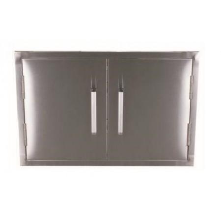Whistler Outdoor Stainless Steel Double Door