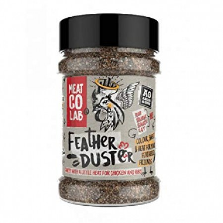 """Angus & Oink - """"Feather Duster"""" BBQ Rub 200g"""