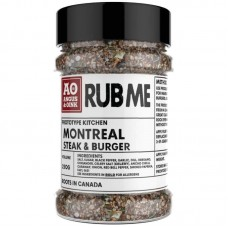 Angus & Oink - Montreal Steak Burger Seasoning 200g
