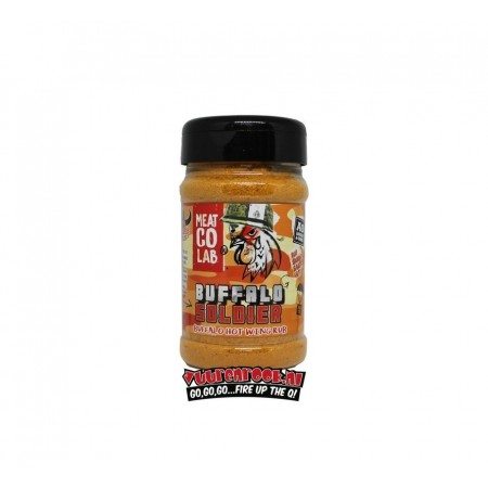 """Angus & Oink - """" Buffalo Soldier"""" Wing Rub 200g"""