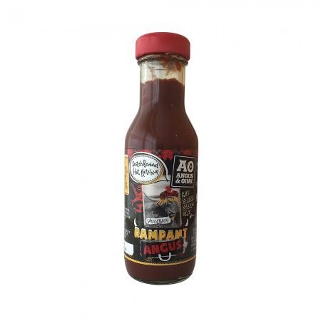 "Angus & Oink - ""Rampant Angus"" Scotch Bonnet Hot Ketchup 300ml"