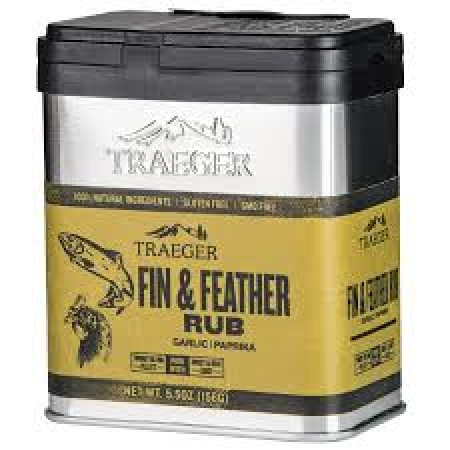 Traeger Fin and Feather Rub - 155g SPC196