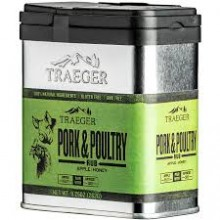 Traeger Pork and Poultry Rub - 262g SPC193
