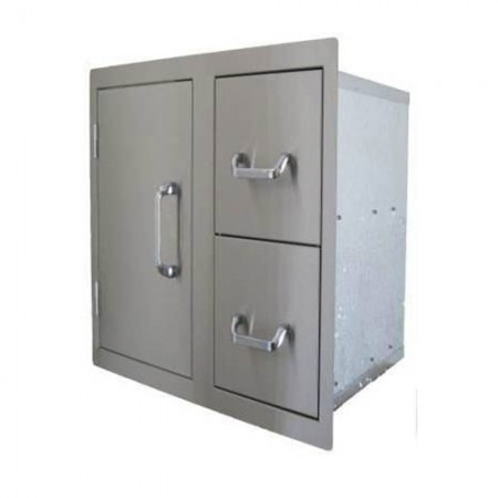 Beefeater Signature Built-In Drawer and Door Combo