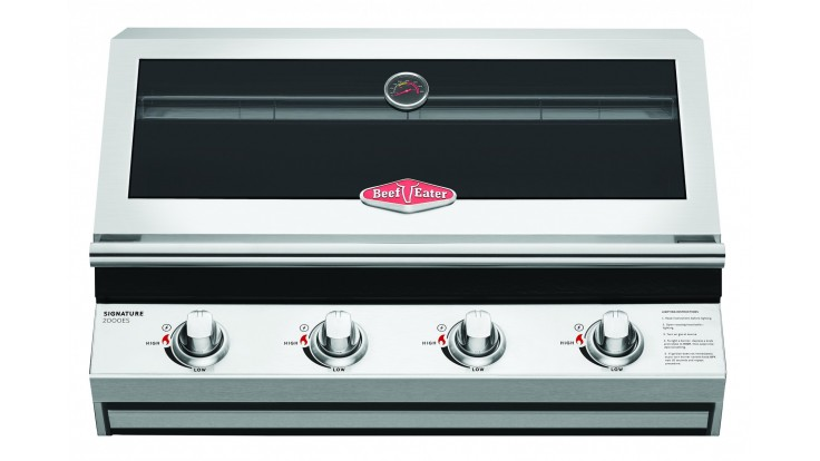Beefeater 2000S Series Built In - 4 Burner Gas BBQ