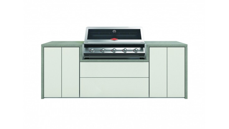 BeefEater Harmony Outdoor Kitchen with S2000 5 Burner BBQ