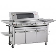 Beefeater Signature SL4000 5 Burner Gas BBQ w/ Free Cover & Rotisserie Kit