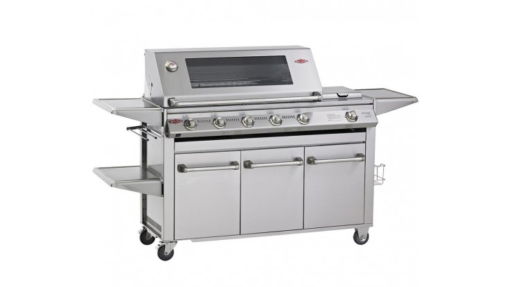 Beefeater Signature SL4000 5 Burner Gas BBQ - Free Cover & Rotisserie Kit