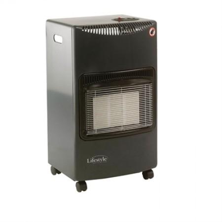 Lifestyle Seasons Warmth Portable Gas Heater in Dark Grey