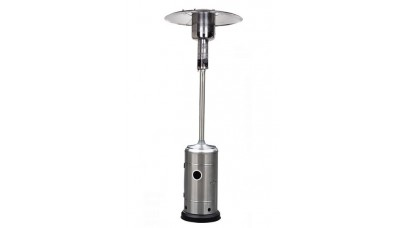 Lifestyle - Capri Patio Heater in Stainless Steel