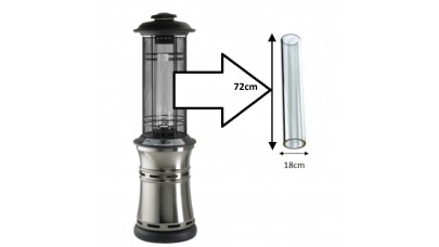 Replacement Glass Tube For Santorini Patio Heater