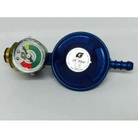 Butane Regulator with Gauge