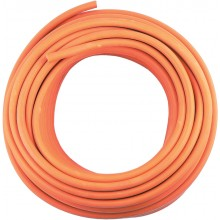 8mm High Pressure Gas Hose (Price Per Meter) w/ 2x Jubilee Clips